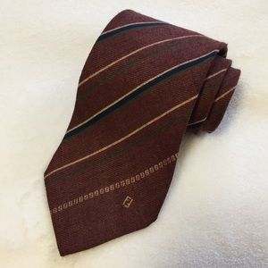 Fendi for Barneys New York silk blend tie